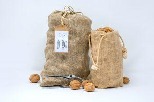 Walnuts in Jute Bag