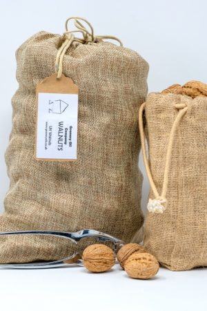 Walnuts in Jute Bag